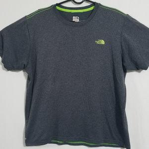 2/$30 The North Face Mens M VaporWick T Shirt Gray